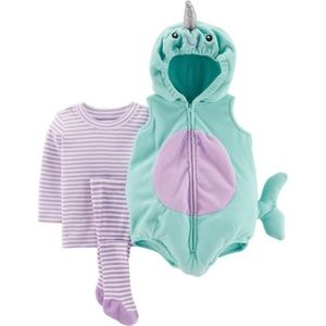 Narwhal carters 12 month Halloween costume